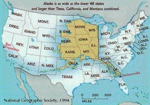 Alaska and the Lower 48
