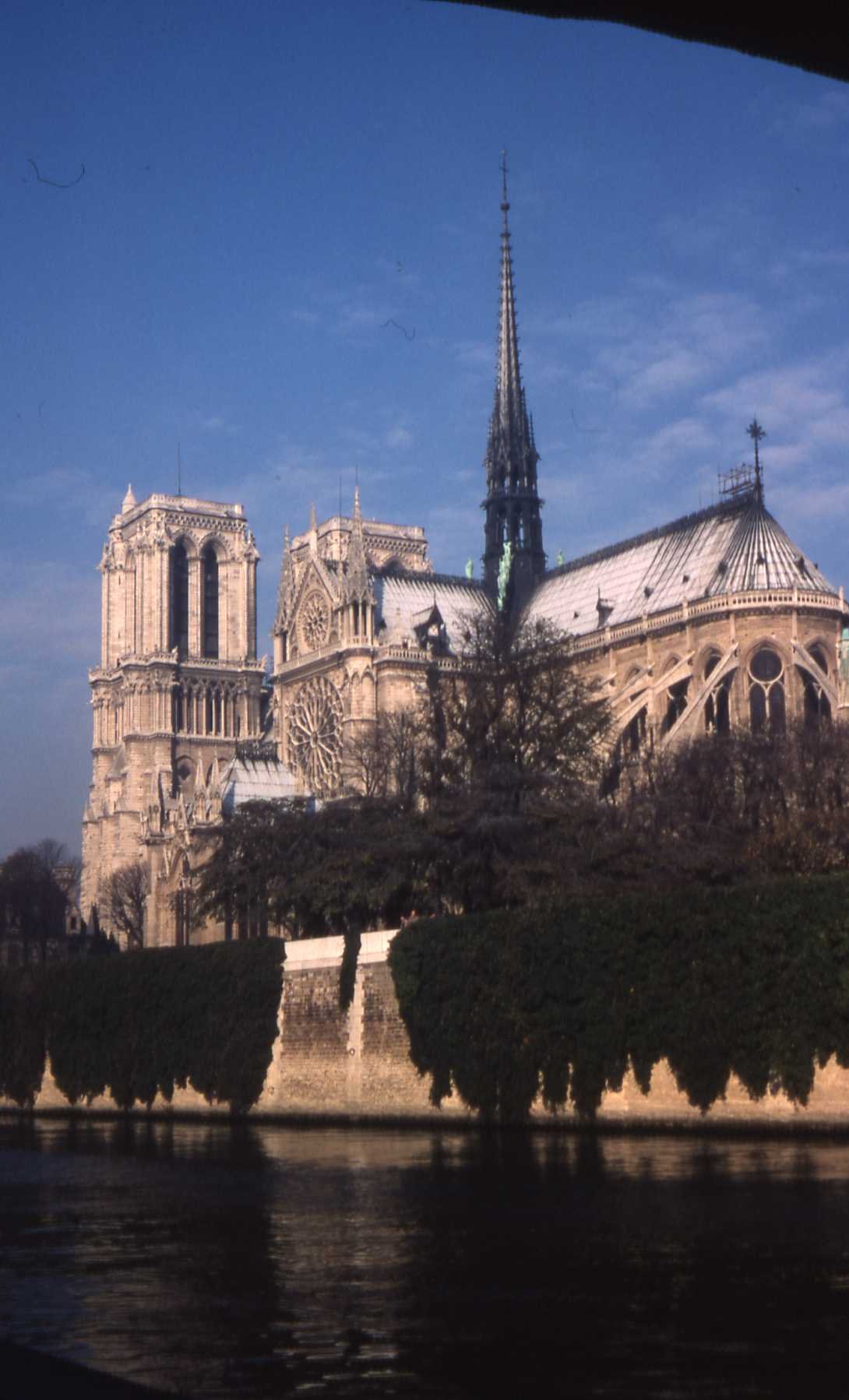 The instantly recognizable Notre Dame de Paris